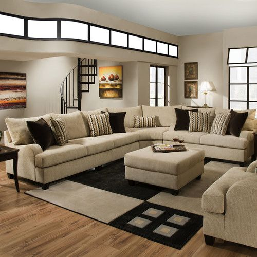 Found it at Wayfair - Simmons Upholstery Matherville Sectional