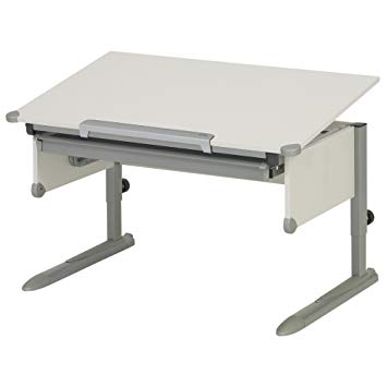 Kettler 06604-270 College Box children's Desk Silver/White: Amazon