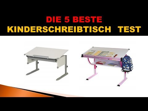 Beste Kinderschreibtisch Test 2019 - YouTube