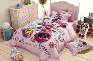 Minnie Mouse and Daisy Duck Cartoon Bedding Set ( Many Sizes