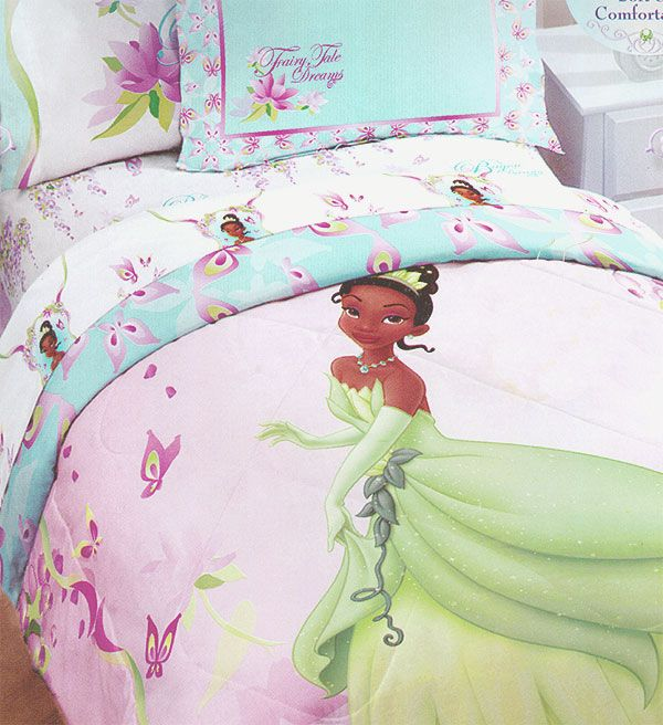 princess tiana bedding sets | Tiana Princess Frog Bedding Set