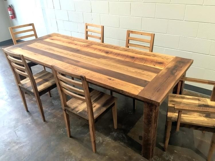 Farmhouse Table And Chairs For Sale | Stühle | Reclaimed wood dining