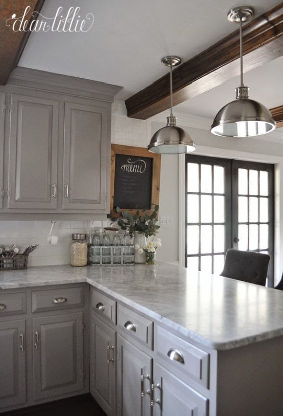 37 Brilliant DIY Kitchen Makeover Ideas | kitchen | Farmhouse