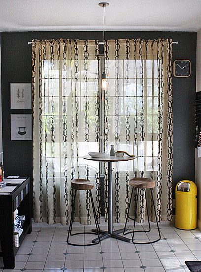 Su Casa: New Curtains For the Kitchen   home