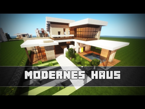 Kleines MODERNES HAUS | Minecraft Tutorial - YouTube
