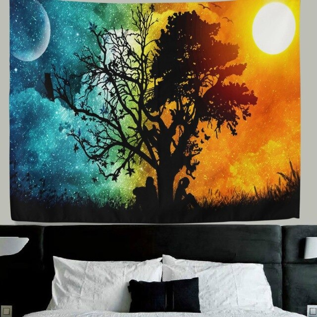 Fabric Wall Hanging Tapestry Wall Tenture Murale Beach Towel for