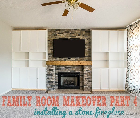 Familienzimmer Makeover Teil 4: AirStone Kamin Makeover - DIY Materials