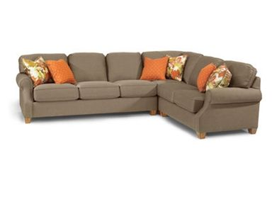 Flexsteel Sectional, 7840-37-231-28 at Furniture Mall of Kansas in