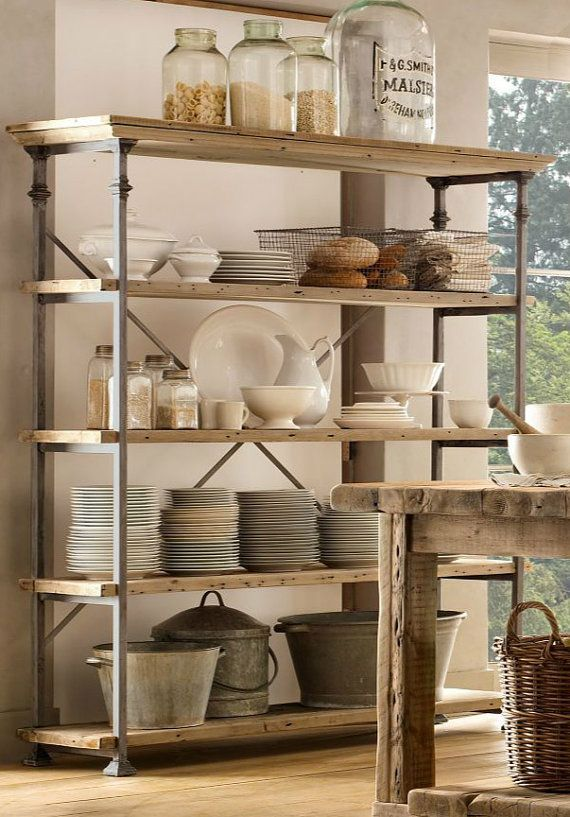 French vintage baker's rack | around the house | French country