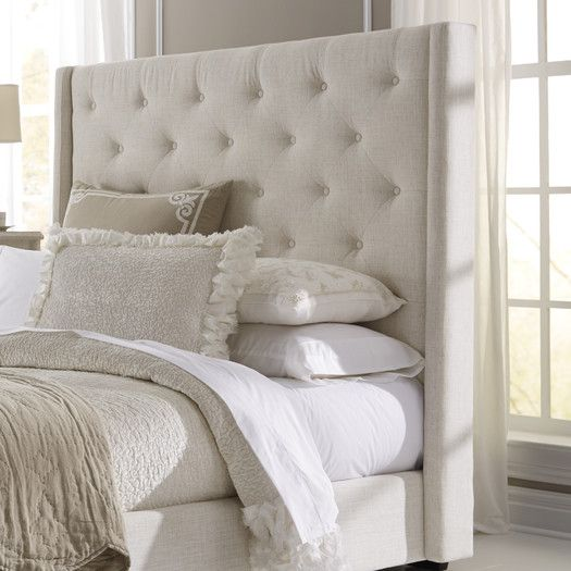 Fares Upholstered Wingback Headboard in 2019   The Fillmore