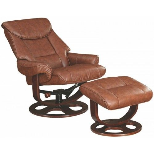 Glider Recliner With Ottoman | Coaster Furniture | Recliner with