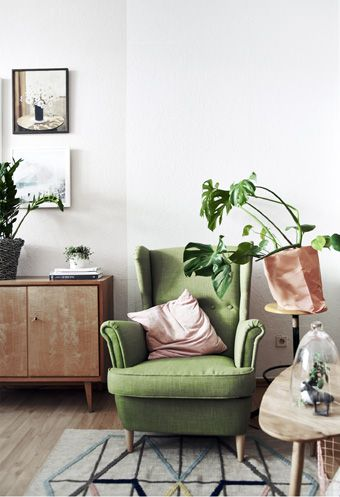 Create a cozy spot for relaxing and reading | Decorating | Grüner