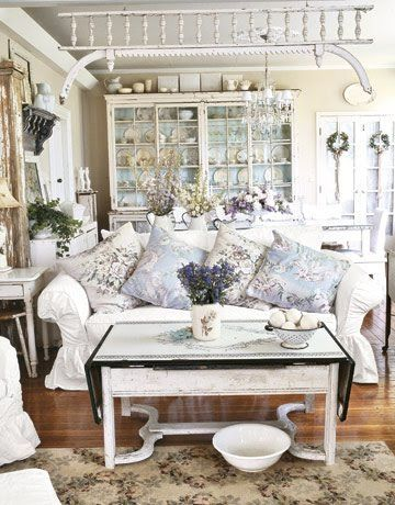 Lovely soft colors and details in your interiors. Latest Home