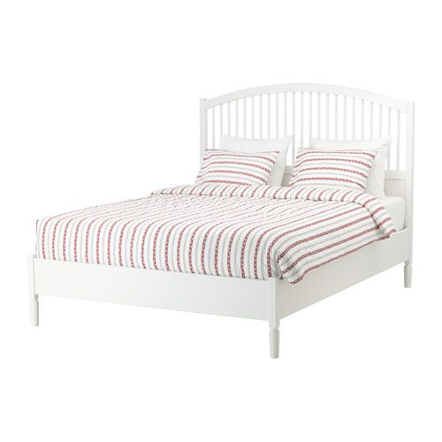 IKEA TYSSEDAL White, Lönset Bed frame | The new Snow Residence