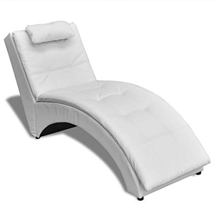 Amazon.com: Festnight Chaise Longue Sofa Chair, Soft Sleeper Bed