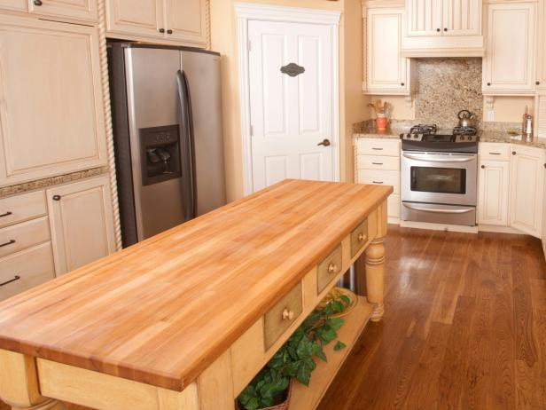 Butcher Block Kitchen Islands | HGTV