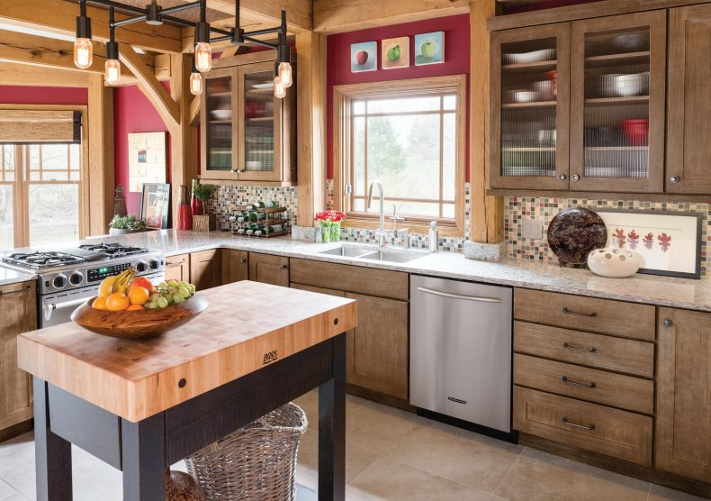 Yorktowne Cabinetry | Butcher Block Island