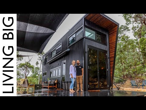 This Ultra Modern Tiny House Will Blow Your Mind - YouTube