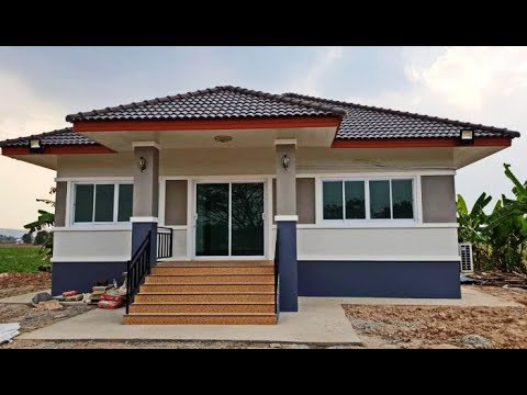 Modern Bungalow House Style With Interior and Exterior Design - YouTube