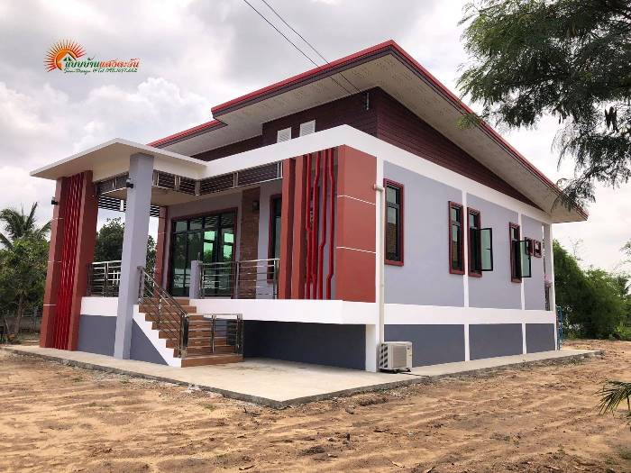 Elevated Modern Bungalow Design - Pinoy House Plans