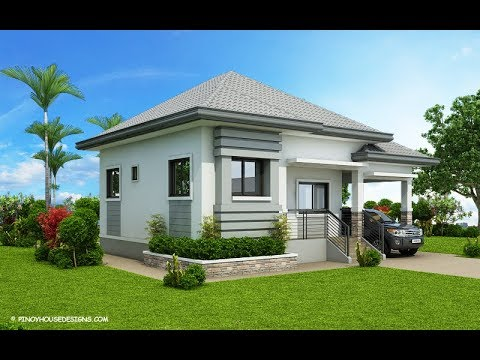 5 Modern Designs for a 3-Bedroom Bungalow House Style with Floor
