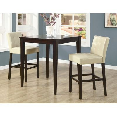 Great contrasting colors! Wildon Home ® Highland Park Table in