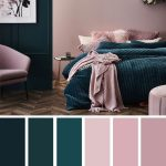 10 Best Color Schemes for Your Bedroom  Deep ocean   Teal   Mauve , blush color palette, colo...