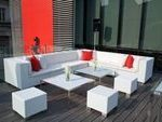 12 modern white outdoor furniture design ideas to discover
