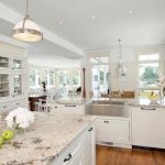 15 Best Pictures of White Kitchens with Granite Countertops | myhomedecorideas.....
