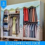 Ultra Time Empty Wardrobe Clothes Wardrobe Portable Clothes Closet Cupboard Bedr...