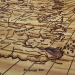 Game of Thrones Map Table Westeros Essos Sotheryos Map A Song of Ice and Fire Map Table Pyrography Rustic Coffee Table Wood Burning Scroll