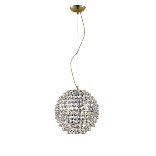 Willa Arlo Interiors 5-Light Crystal Pendant | Wayfair.co.uk