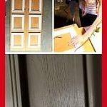 16 simple DIY door projects for amazing home decor at an affordable price.