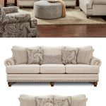 2820 Cary's Doe Traditional Sofa with Nailhead Trim by Fusion Furniture - pickndecor/home