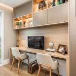 38 Stunning Small Home Office Furniture Design Ideas - LUVLYDECORA