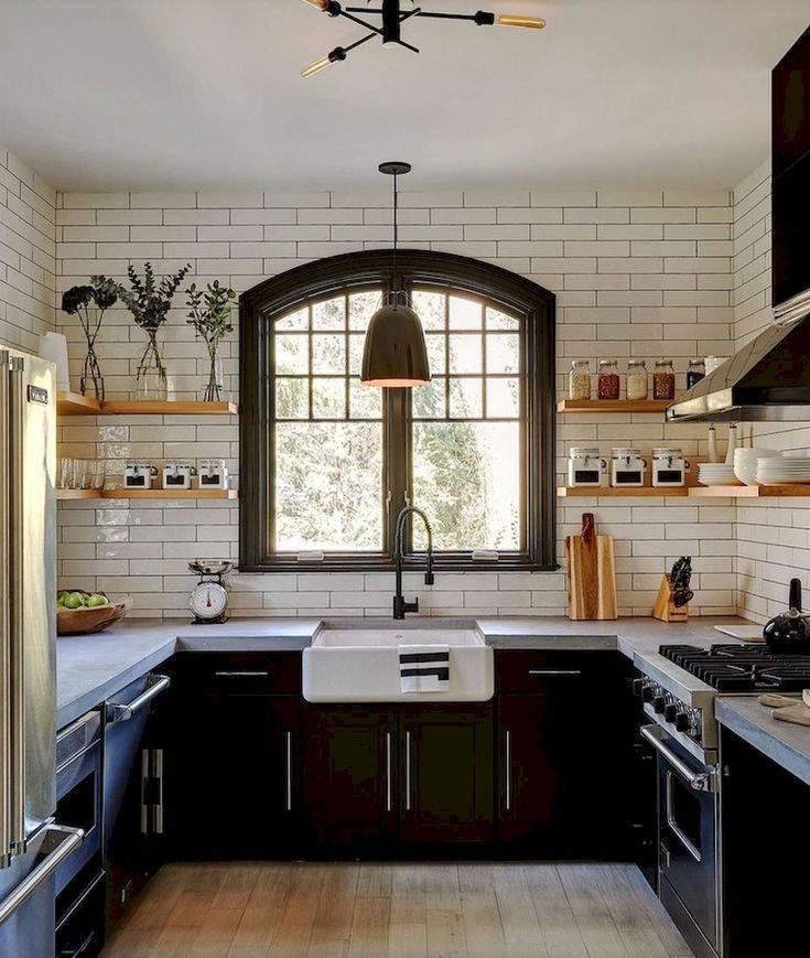 70 Modern Farmhouse Kitchen Cabinet Makeover Design Ideas – HomeSpecially