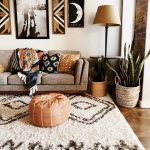 90 Modern Bohemian Living Room Inspiration Ideas - Page 158 of 187
