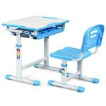 Adjustable Children Multifunctional Study Drawing Desk Chair Set