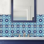 Barcelona Tile / Wall / Floor/ Stairs Vinyl Decal, Removable Kitchen Bathroom Backsplash