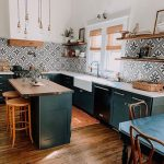 Bold Patterns and Organic Materials Create an Unforgettable Kitchen Design | Hunker