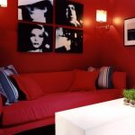 Bold Red Living Room With Black and White Accents Red Living Room Sets red living room ideas picture