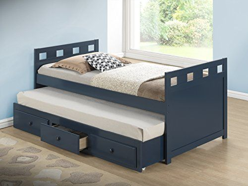 Broyhill Kids Breckenridge Captain's Bed with Trundle Bed and Drawers | Wall's Furniture & Decor