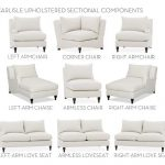 Build Your Own - Carlisle Upholstered Sectional Components