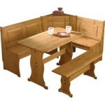 Buy Argos Home Puerto Rico Wood Nook Table & 3 Corner Bench Set | Dining table and chair sets | Argos