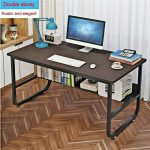 Computer Desk PC Laptop Table Wood Workstation Study Home Office Furniture - Wor...