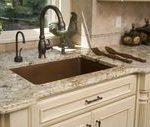 Cream Kitchen Cabinets With Granite Countertops French Style - #cabinets #counte...