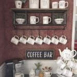 DIY Coffee Bar Ideas - Stunning Farmhouse Style Beverage Stations for Small Spaces and Tiny Kitchens - Decluttering Your Life