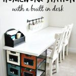 DIY Ikea Homework Station (Perfect for 1 or multiple kids)