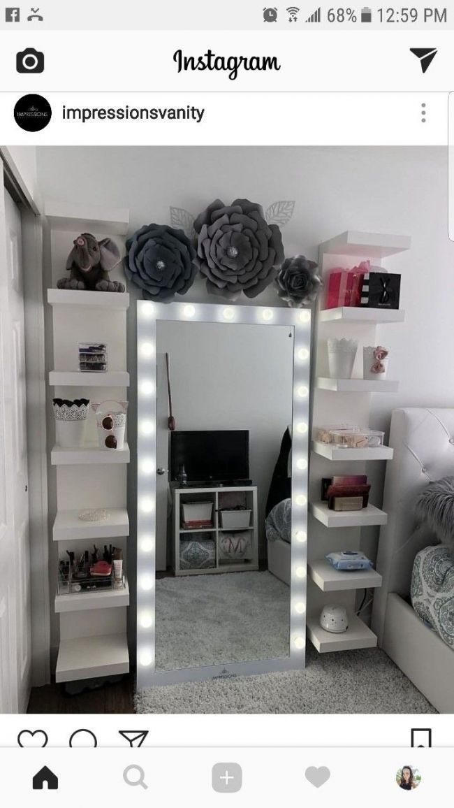 DIY Makeup Room Ideas Organizer Storage and Decoration # Bedroom # Furniture