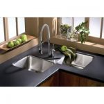 Elkay Lustertone Undermount Stainless Steel 32x32x7-7/8 3-Hole Double Bowl Kitch...